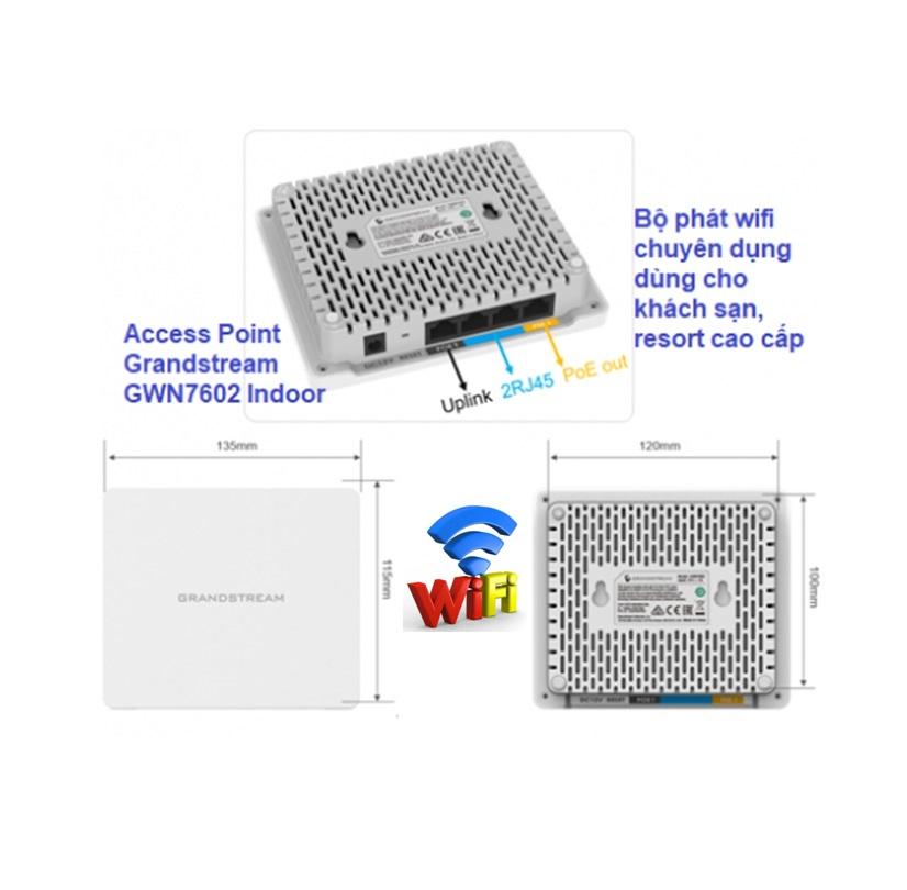 GWN7602 wifi Grandstream