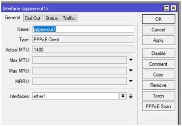 Tạo tên cho tài khoản PPoE trên Mikrotik