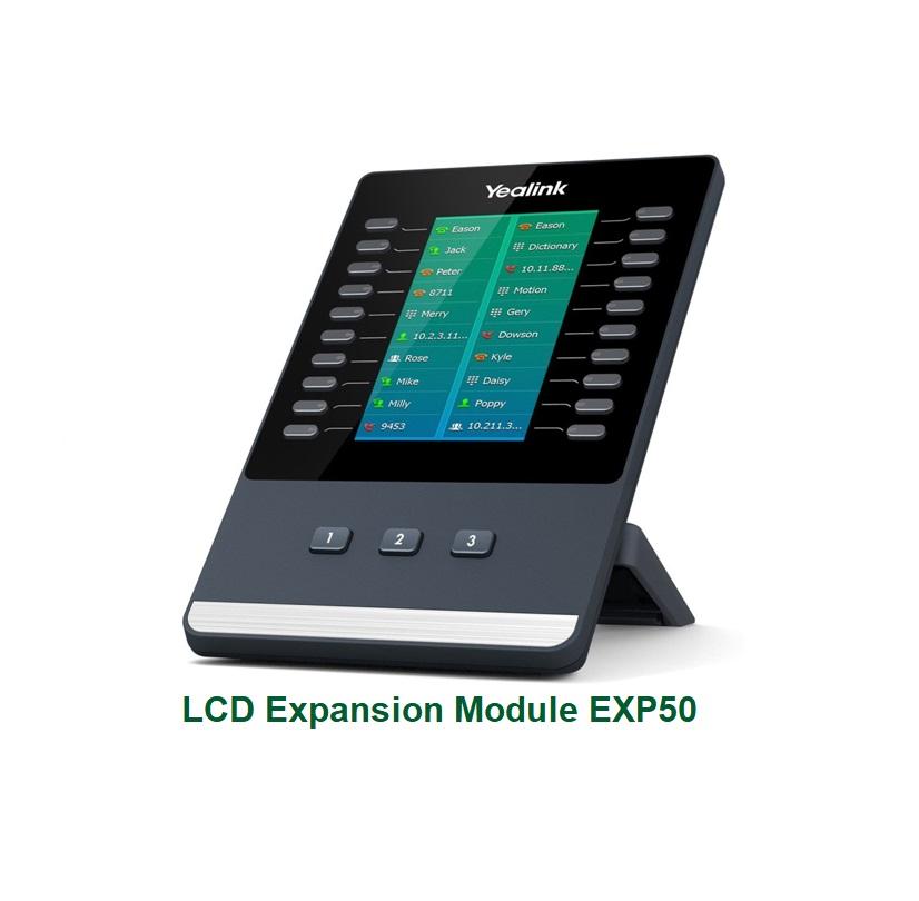 bàn key mở rộng Yealink EXP50