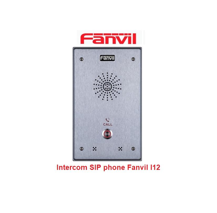 Fanvil i12 audio intercom