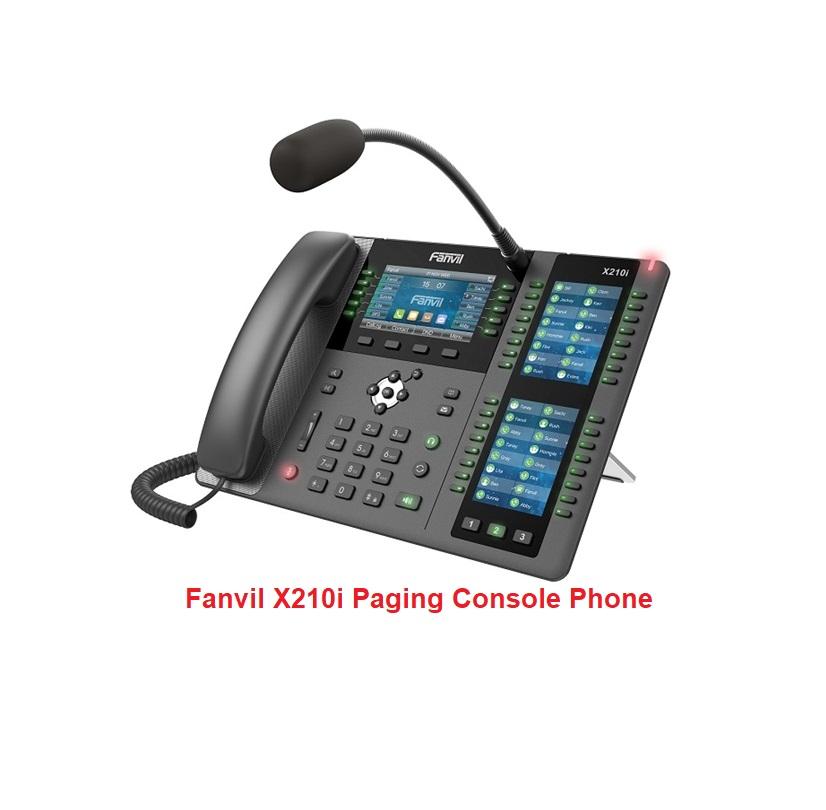 Điện thoại bàn giám sát Fanvil X210i