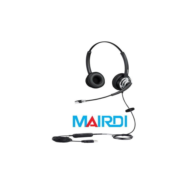 tai nghe telesale call center tai nghe MRD-805DUC