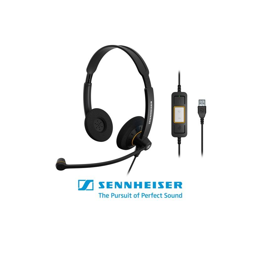 tai nghe Sennheiser SC 60 USB ML