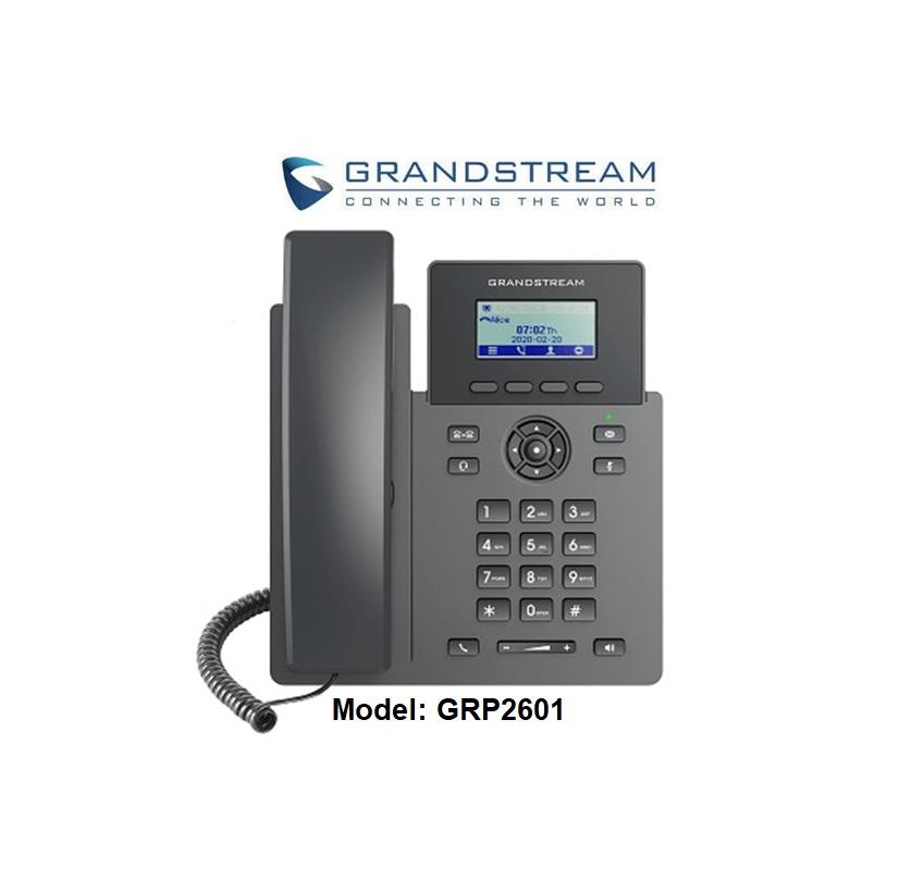 Điện thoại GRP2601 quản lý cloud