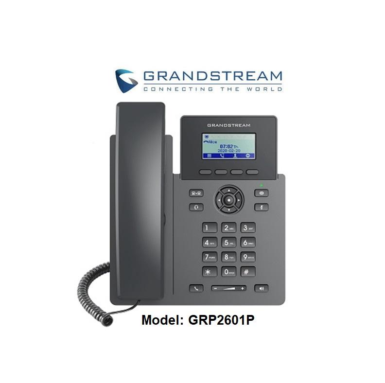 Điện thoại GRP2601P hỗ trợ PoE