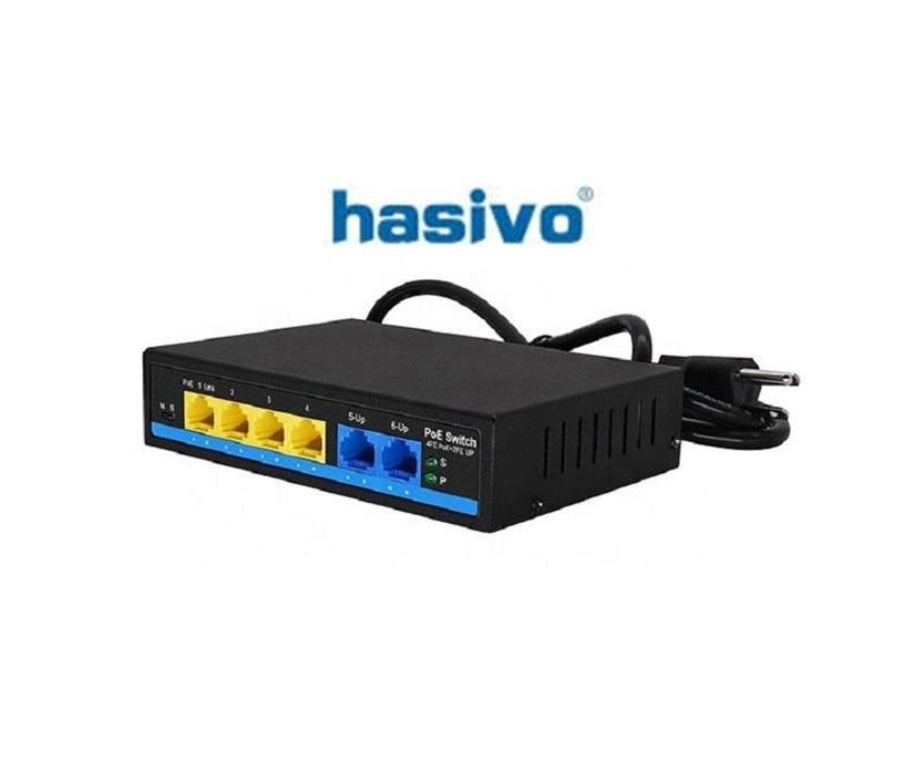 Switch PoE Hasivo S600P-4F-2F-SE