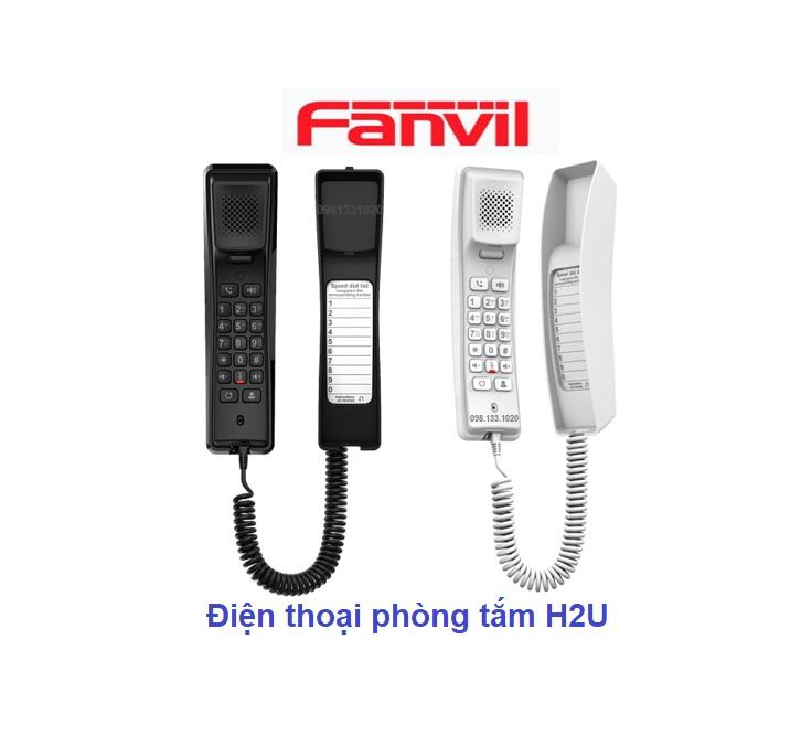 Điện thoại phòng tắm Fanvil H2U