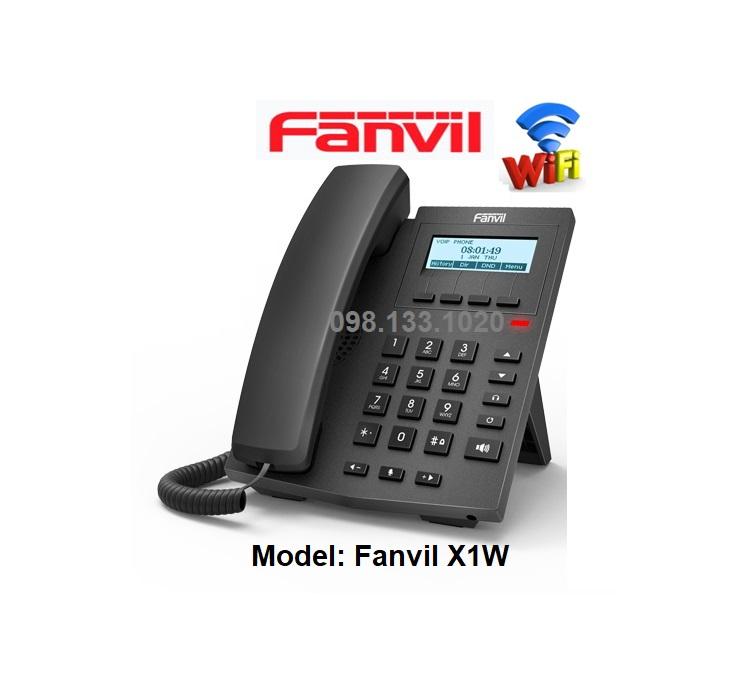Điện thoại wifi Fanvil X1W