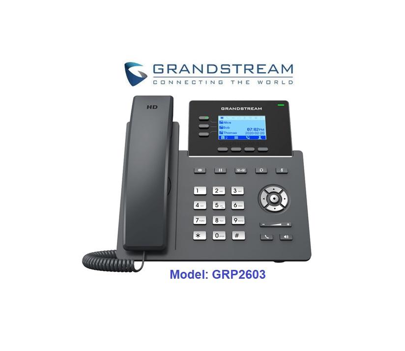Điện thoại Grandstream GRP2603