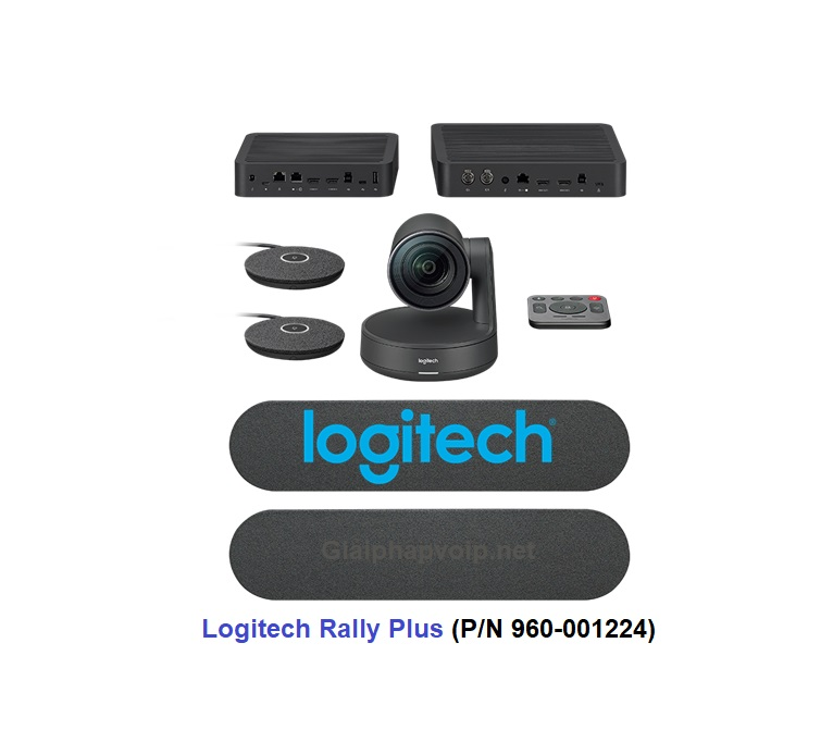 Thiết bị hội nghị Logitech Rally Plus PN 960-001224