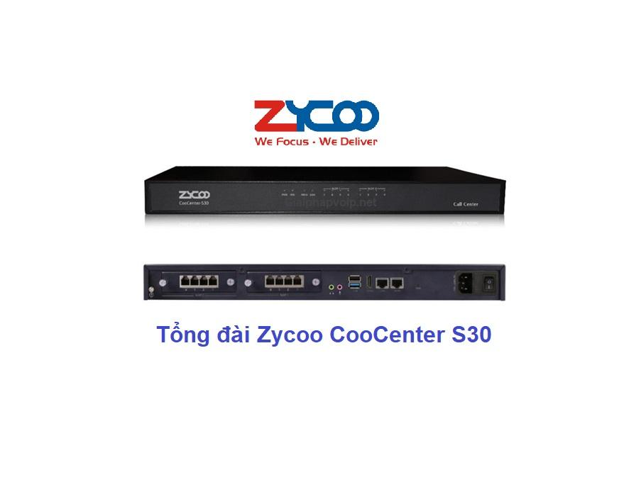 Tổng đài Call center Zycoo S30