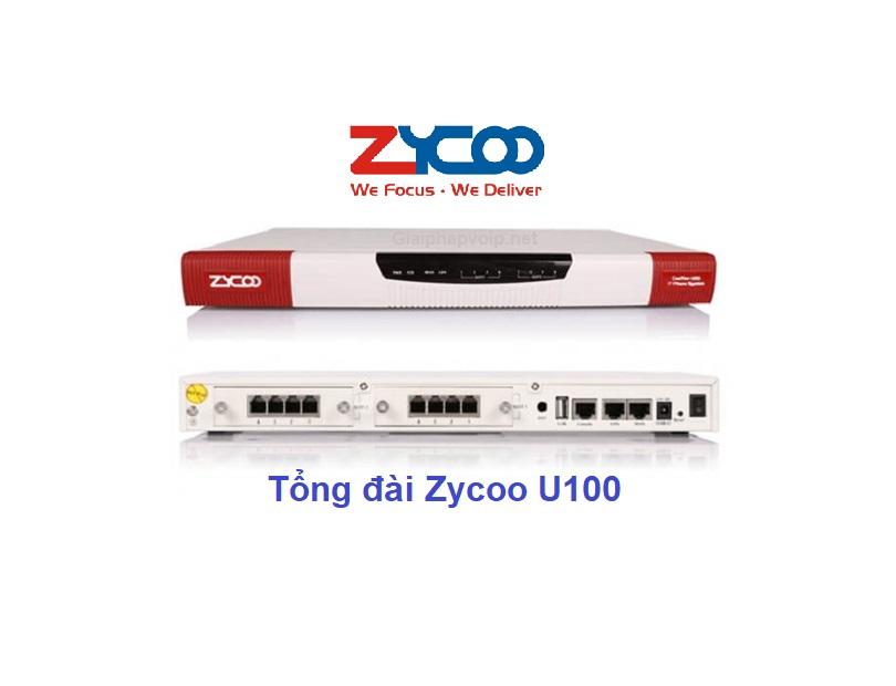 Tổng đài ip Zycoo U100