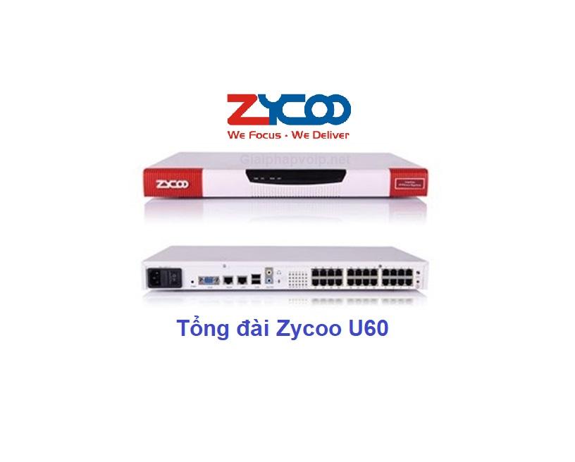 Tổng đài ip Zycoo U60