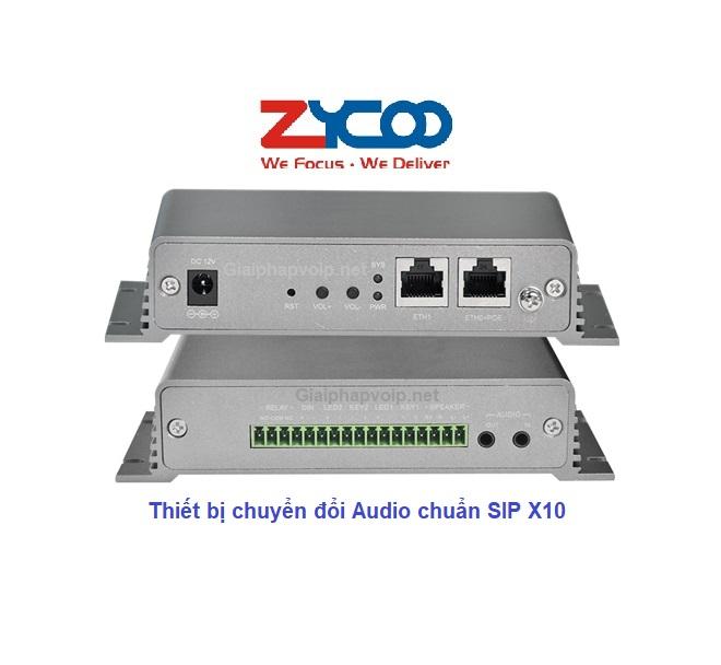 Bộ chuyển đổi âm thanh Zycoo X10