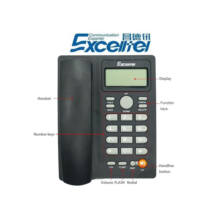 Điện thoại PH208 bền giá rẻ