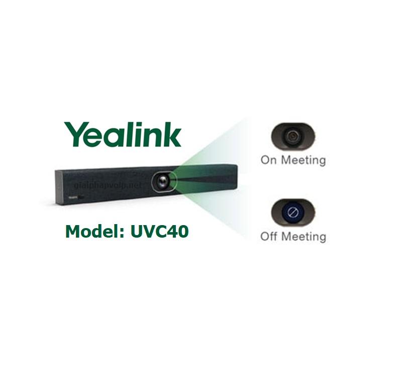UVC40 camera hội nghị truyền hình