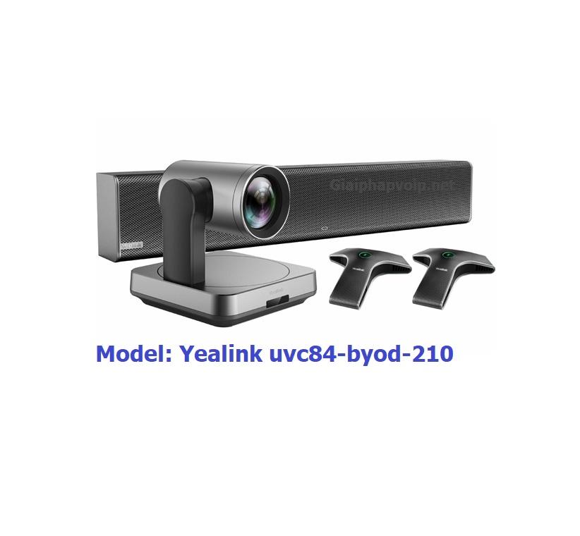 UVC84 byod-210 Yealink hệ thống hội nghị truyền hình